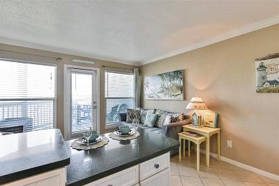 Galveston Condo/Townhouse For Sale: 10811 San Luis Pass #2118