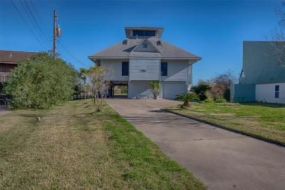 Dickinson Single Family Home For Sale: 5011 Bayou Bend Drive