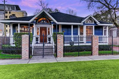 Houston Single Family Home For Sale: 216 W 9th Street