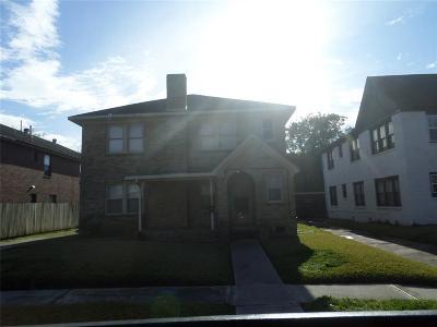 Houston Multi Family Home For Sale: 2622 Rosedale Street