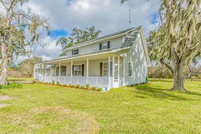 Brazoria Single Family Home For Sale: 2128 County Road 342
