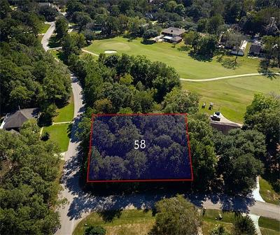 Conroe Residential Lots & Land For Sale: 58 Robert E Lee Drive