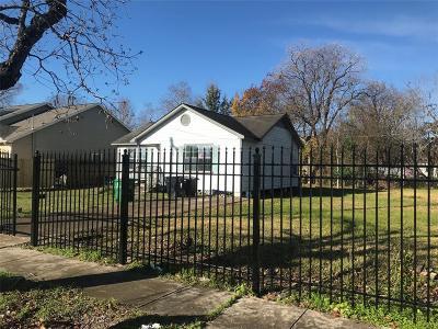 Houston Single Family Home For Sale: 2314 & 2316 Napoleon Street