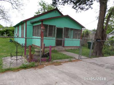 Houston TX Single Family Home For Sale: $80,900
