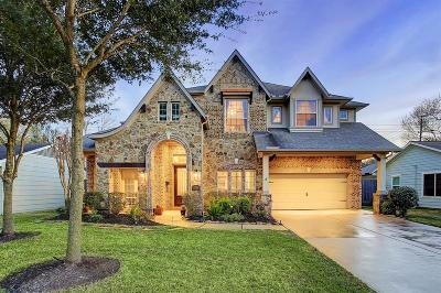 Houston Single Family Home For Sale: 1745 Woodcrest Drive