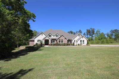 Willis Single Family Home For Sale: 1625 Topaz Trail
