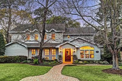Houston Single Family Home For Sale: 607 Glenchester Drive