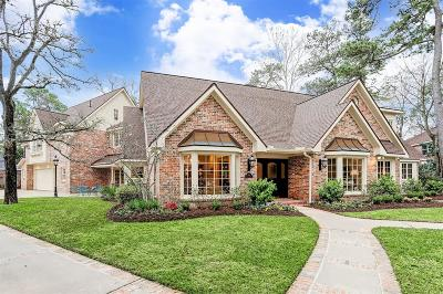 Houston Single Family Home For Sale: 302 Fawnlake Drive