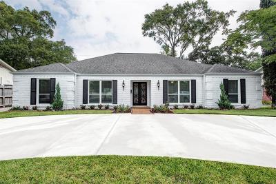 Houston Single Family Home For Sale: 6212 San Felipe Street