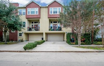 Houston Condo/Townhouse Pending Continue to Show: 1031 W 23rd Street