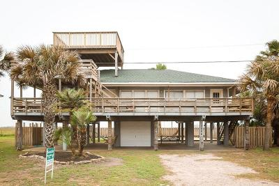 Galveston TX Single Family Home For Sale: $325,000