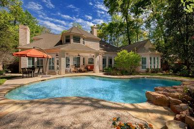 The Woodlands Single Family Home For Sale: 23 Halfmoon Court