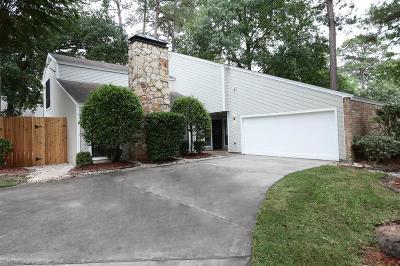 Houston Single Family Home For Sale: 2119 Woodstream Drive