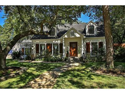 Houston Single Family Home For Sale: 866 Lamonte Lane