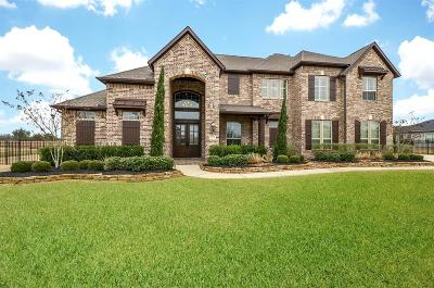 Cypress TX Single Family Home For Sale: $850,000