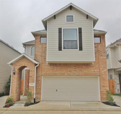 Houston Single Family Home For Sale: 1625 Johanna Drive