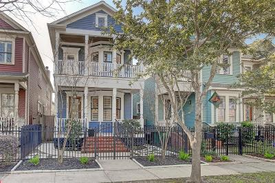Houston Single Family Home For Sale: 634 W 17th Street