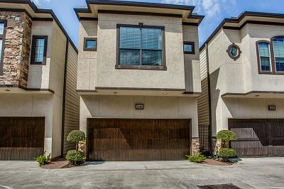 Houston Condo/Townhouse For Sale: 5540 S Nolda Street