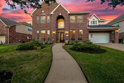 Tomball Single Family Home For Sale: 17210 Eagle Ledge Drive