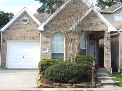 Spring Single Family Home For Sale: 2910 Crescent Bend Road
