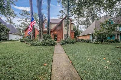 Kingwood Single Family Home For Sale: 1911 Wilderness Point Drive