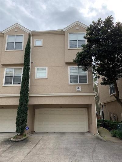 Houston Condo/Townhouse For Sale: 12707 Boheme Drive #806