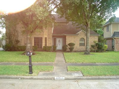Houston Single Family Home For Sale: 15411 Monte Vista Drive