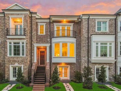 Kingwood Condo/Townhouse For Sale: 4606 Regent Manor Drive
