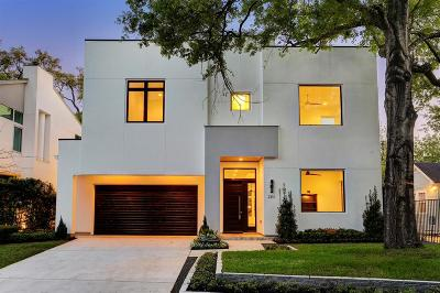 Houston TX Single Family Home For Sale: $1,649,000
