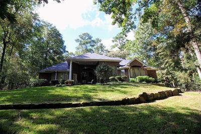 Conroe Single Family Home For Sale: 6114 Canyon Creek Lane