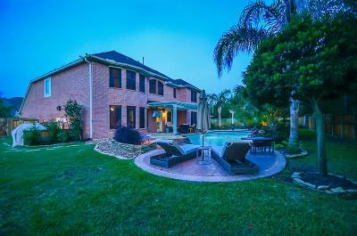 Katy Single Family Home For Sale: 21223 Dover Park Lane