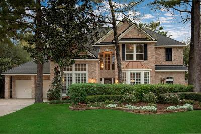 The Woodlands TX Single Family Home For Sale: $598,000