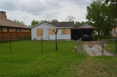 Harris County Single Family Home Pending: 11018 Evangeline Drive