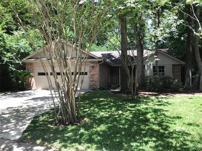 The Woodlands Single Family Home For Sale: 60 Wood Scent Court