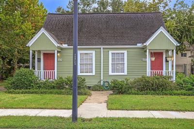 Houston Multi Family Home For Sale: 716 W Melwood Street