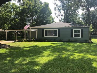 Rosenberg Single Family Home For Sale: 1419 Damon Street