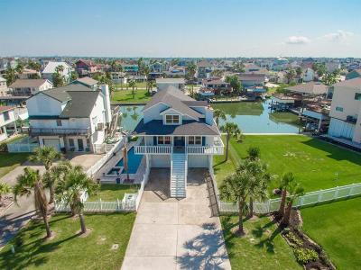 Tiki Island Single Family Home For Sale: 1414 Palmetto Drive