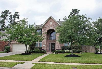 Humble Single Family Home For Sale: 14619 Woodside Crossing Lane