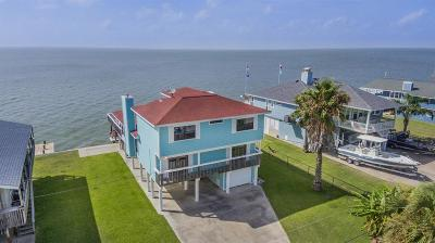 Galveston Single Family Home For Sale: 22112 Guadalupe