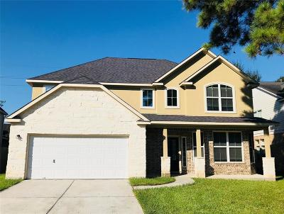 Humble Single Family Home For Sale: 19007 Hikers Trail Drive