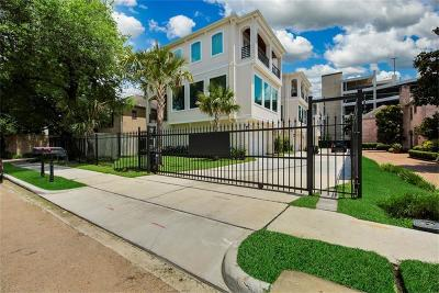 Houston Single Family Home For Sale: 2425 Nantucket Drive #B