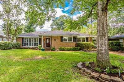 Houston Single Family Home For Sale: 3606 Deal Street