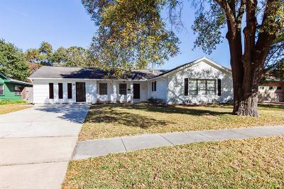 Houston Single Family Home For Sale: 8034 Ridgeview Drive