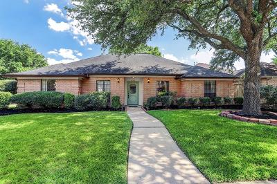 Houston Single Family Home For Sale: 1846 Round Lake Drive