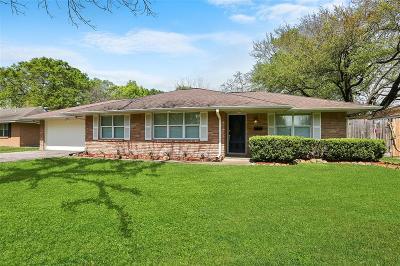 Houston Single Family Home For Sale: 8934 Rockhurst Drive