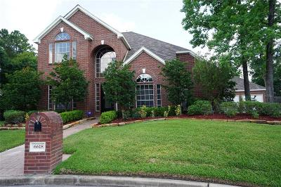 Spring Single Family Home For Sale: 6618 Dowcrest Drive