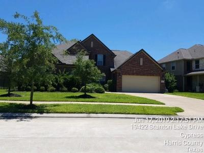 Cypress Single Family Home For Sale: 19418 Stanton Lake Drive
