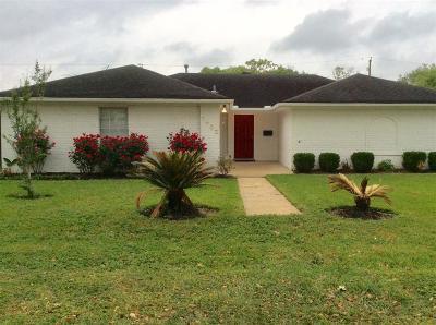 Rosenberg Single Family Home For Sale: 1602 Junker Street