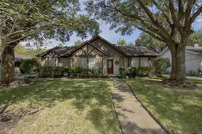 Houston Single Family Home For Sale: 15211 Pleasant Valley Road