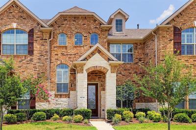 Houston Condo/Townhouse For Sale: 9134 Sunlight Oak Lane